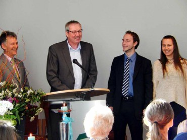 Segnende Beauftragung Pastor Benjamin Bleil