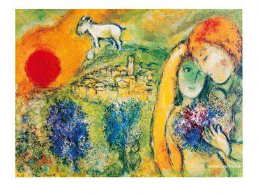 """Chagall Ausstellung """"Exodus-Zyklus"""
